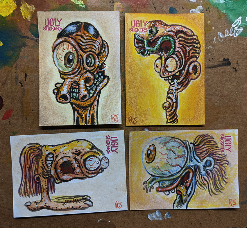 Topps Ugly Stickers
