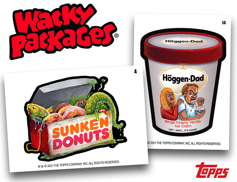 March Wacky Packages at Topps.com