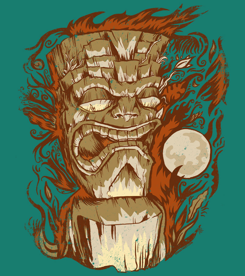 Tiki & Moon No.16