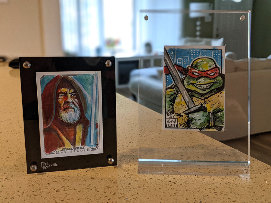 Acrydis Trading Card Displays