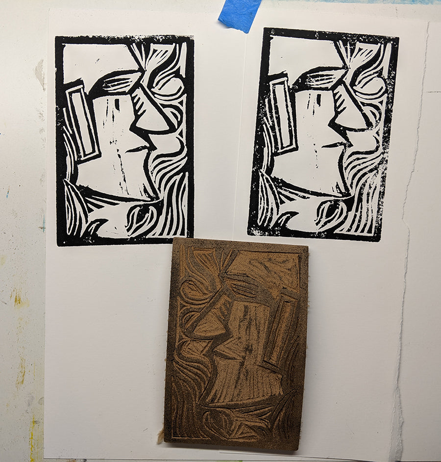 Lino Cut And Block Printing