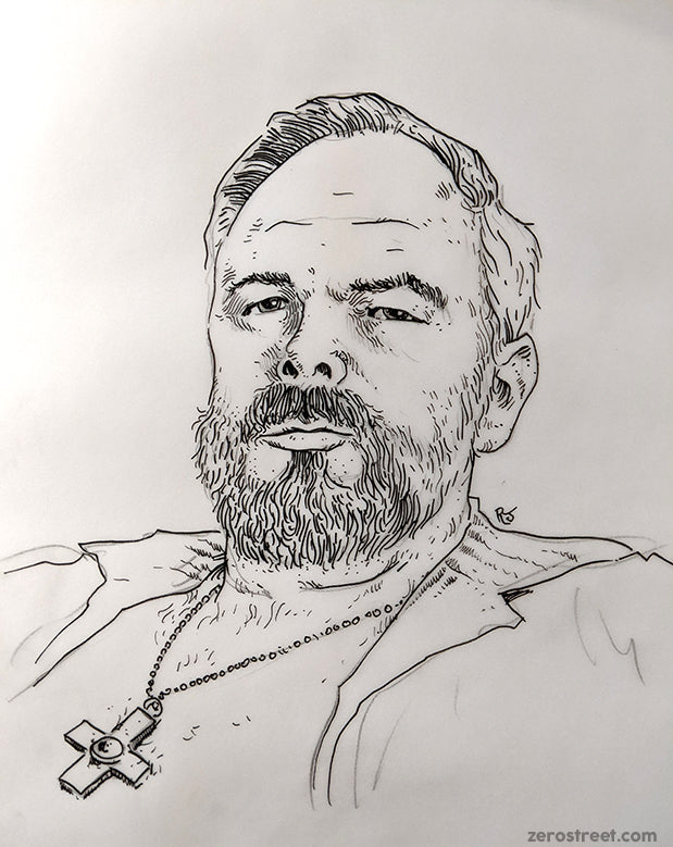 Philip K. Dick Drawing