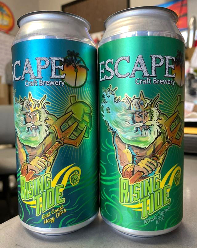 Rising Tide IPA by Escape Craft Brewery