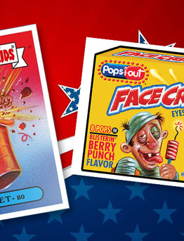 Garbage Pail Kids/Wacky Packages July 4th Set by Topps!