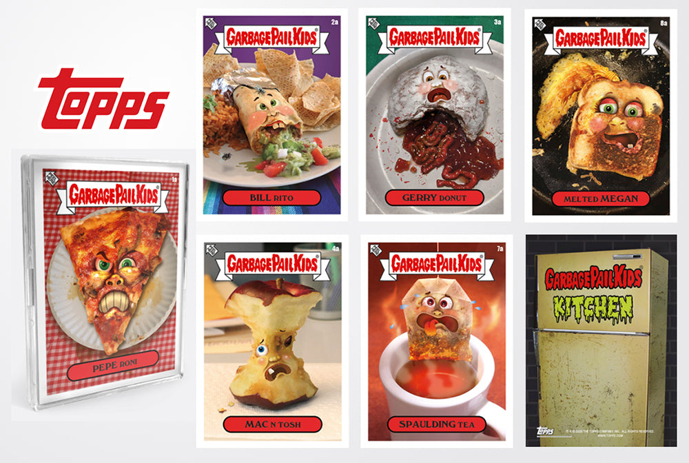 Garbage Pail Kids Kitchen - Now At Topps!