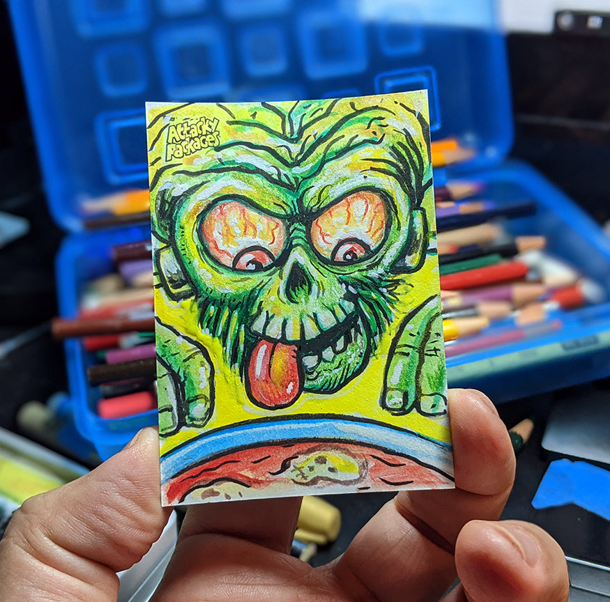 Topps Attacky Packages  Artist Proof