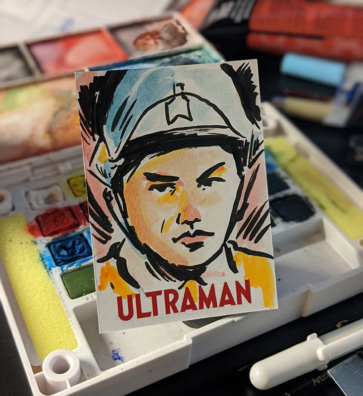 Ultraman Trading Card Set - Kickstarter
