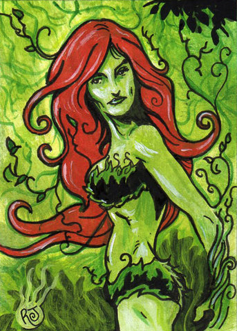 Posion Ivy Sketch Card