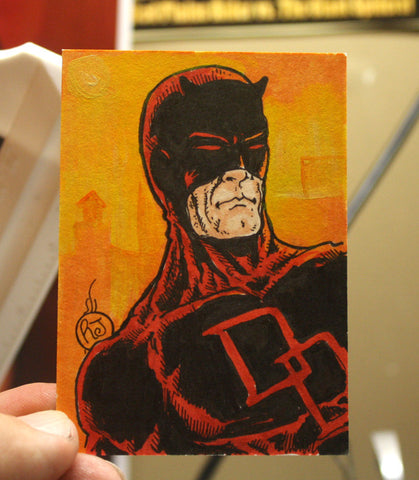 Daredevil Sketch Card