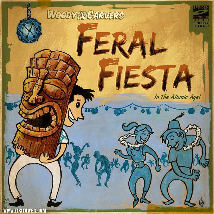 FERAL FIESTA - Original Art