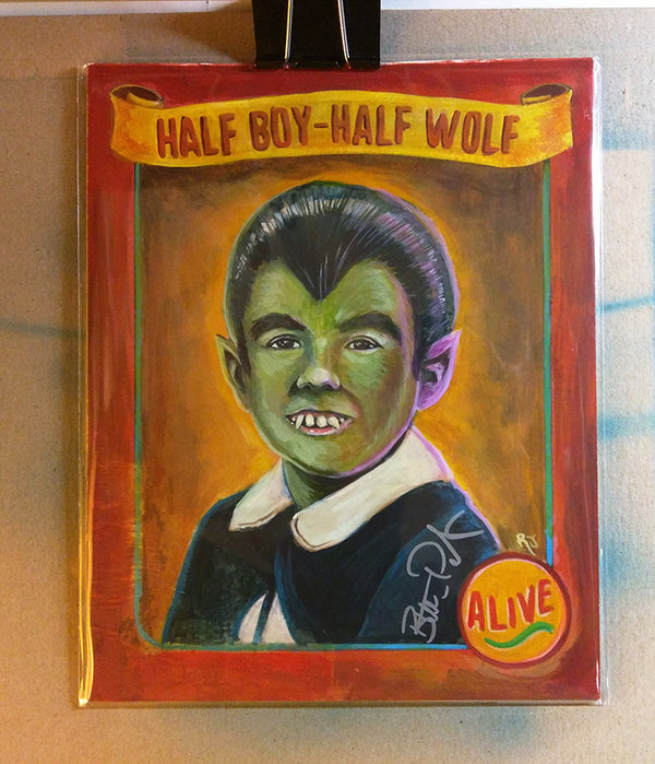 HALF BOY HALF WOLF -Original Art