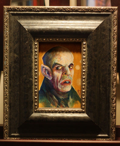 Nosferatu Framed Painting