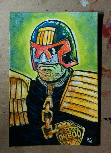Judge Dredd - Original Art
