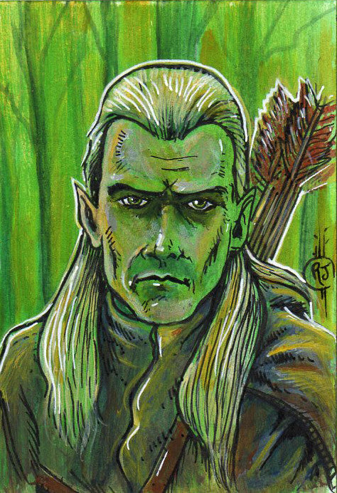 Legolas Sketch Card