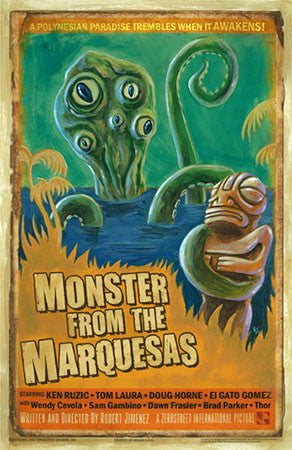 MONSTER FROM THE MARQUESAS Print