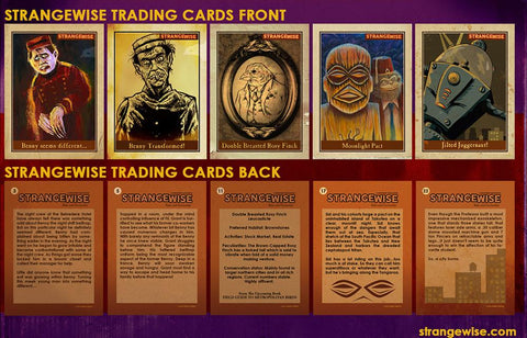 Strangewise No.9 Trading Card (Set of 5)