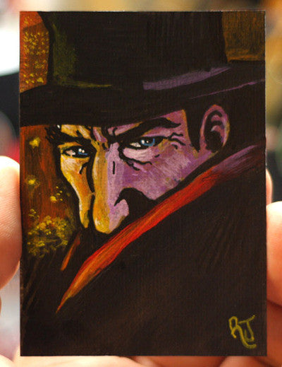The Shadow Sketch Card