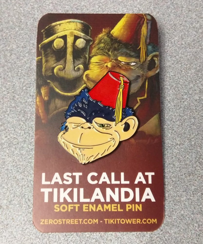 Last Call At Tikilandia Soft Enamel Pin