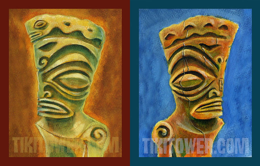 Marquesan West and East Prints