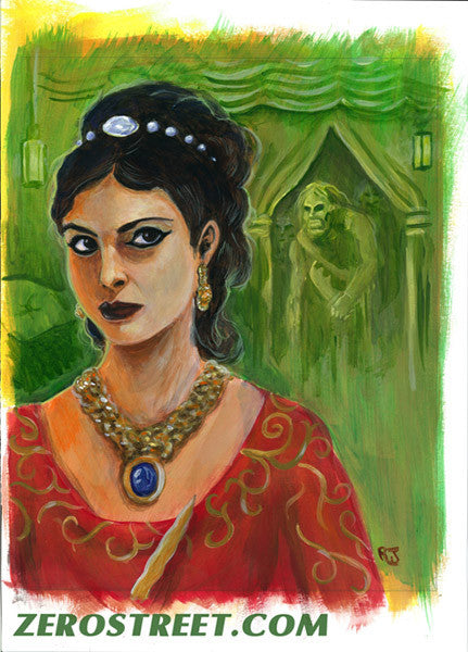 FIREFLY Inara Upper Deck The Verse - Original Art