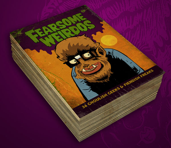 Fearsome Weirdos Trading Card Set
