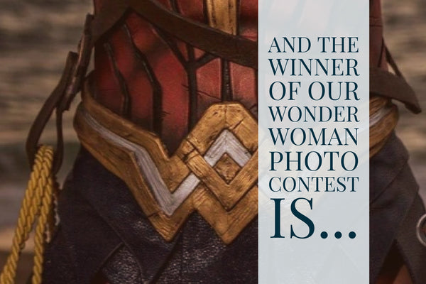 Wonder Woman Photo Contest Winner Announcement!