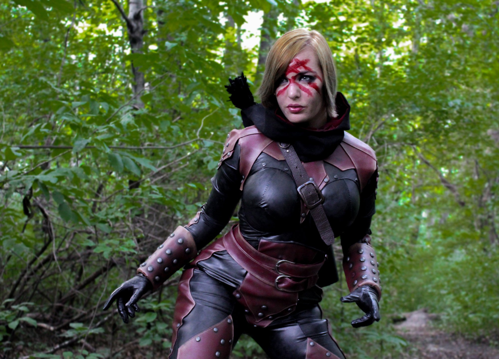 How to Weather Pleather for Cosplay by Lisa Lou Who