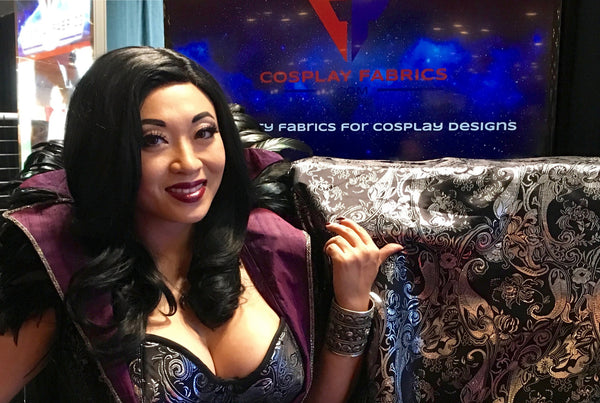 CosplayFabrics.com and Yaya Han Launch Line of Specialty Fabrics for the Cosplay Community