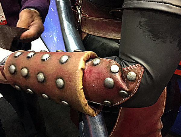 How to Weather Pleather for Cosplay