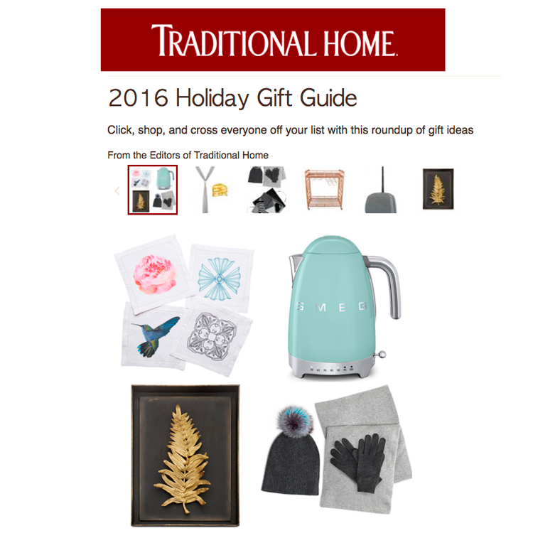 Traditional Home Holiday Gift Guide