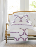 Acanthus Scroll Allover Pattern Euro Sham - Tribute Goods