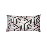 """Carre Cube"" Silk Scarf Pillow - Tribute Goods"