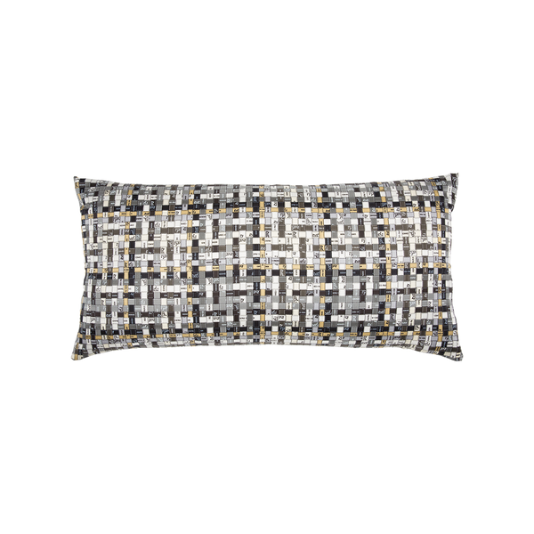 """Bolduc au Carré"" Silk Scarf Pillow - Tribute Goods"