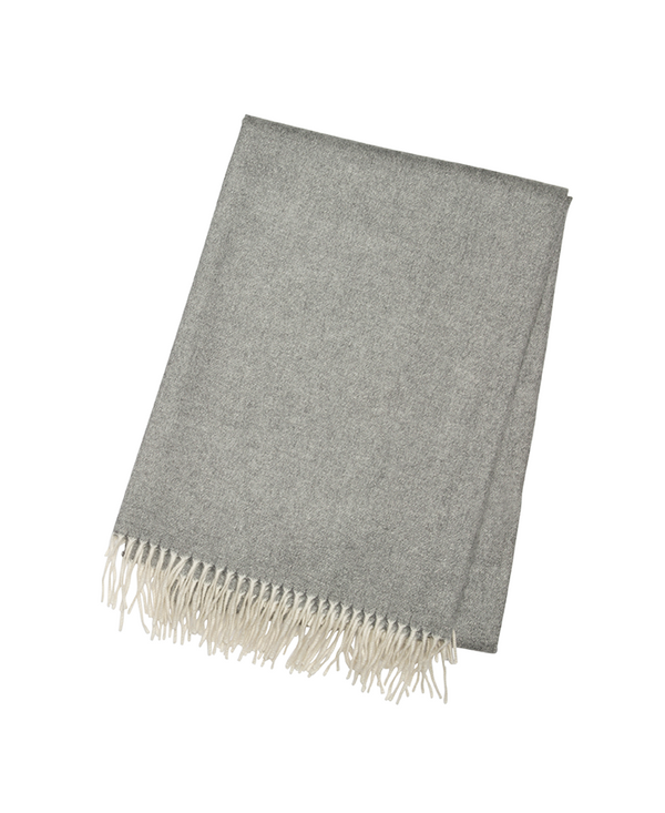 Charcoal - Cashmere Throw - Tribute Goods