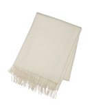 Winter White - Cashmere Throw - Tribute Goods