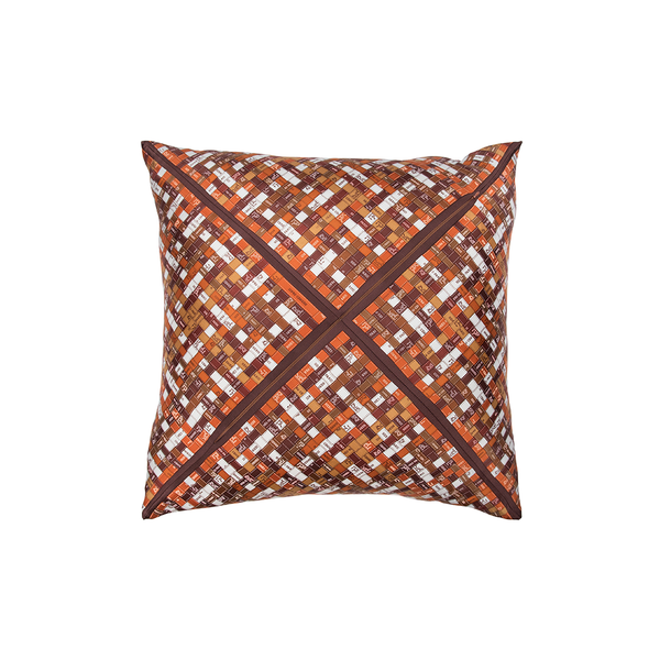 """Bolduc Au Carre"" Hermès Silk Pillows - Tribute Goods"