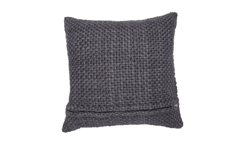 Square Charcoal Pillow - Tribute Goods