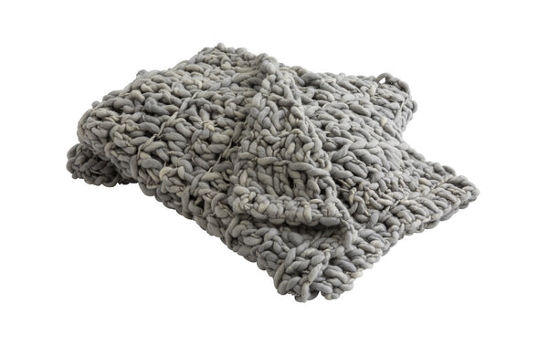 Large Grey Blanket