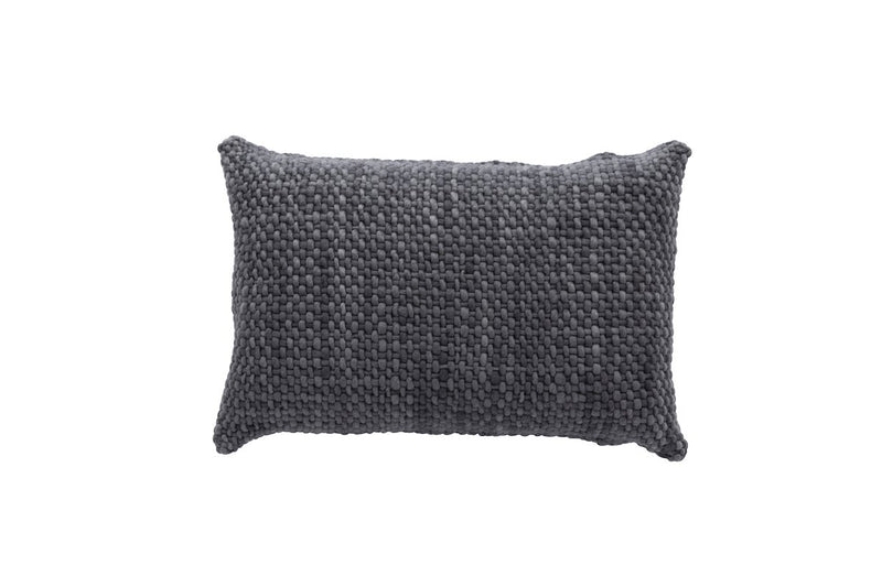 Rectangle Charcoal Pillow