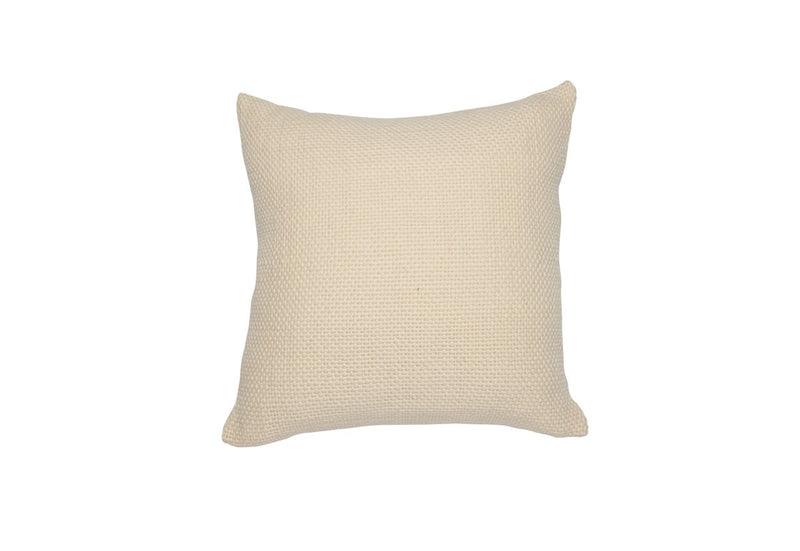 Small Square Ivory Pillow - Tribute Goods