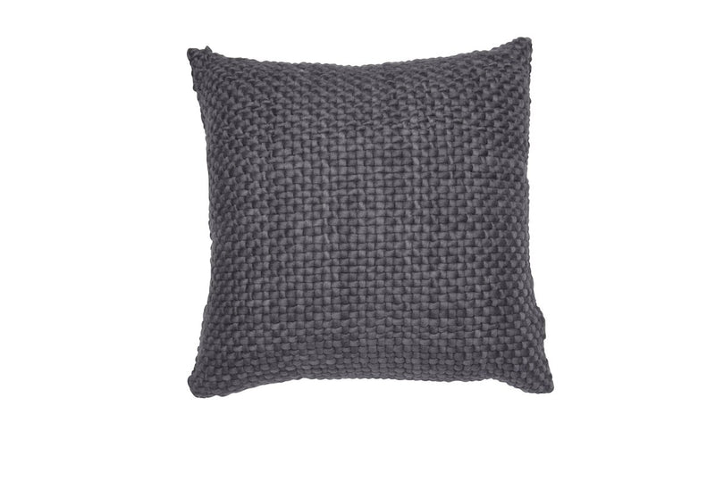 Square Charcoal Pillow