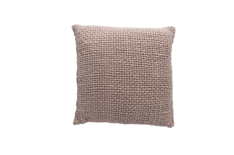 Square Light Pink Pillow