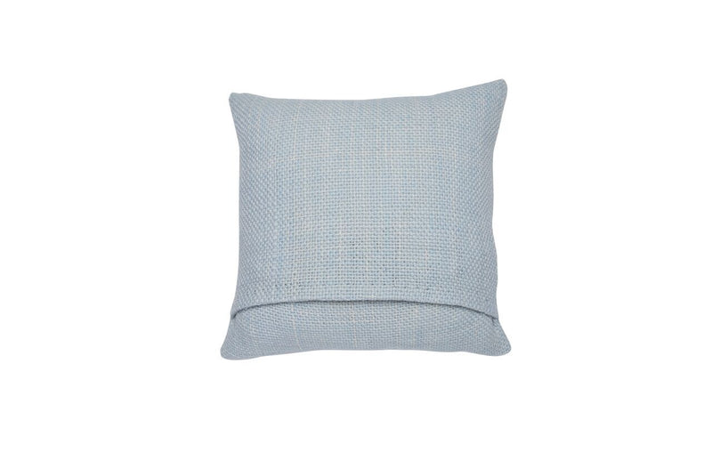 Small Square Light Blue Pillow - Tribute Goods