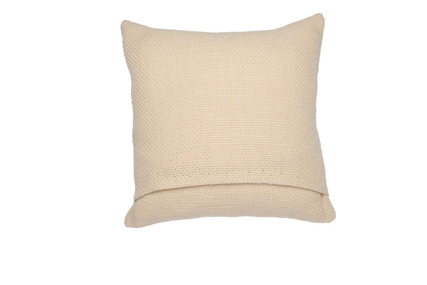 Small Square Ivory Pillow
