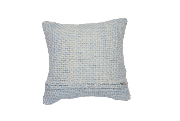 Square Light Blue Pillow - Tribute Goods