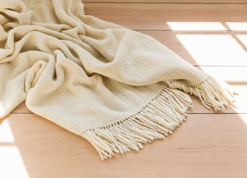 Small Ivory Blanket