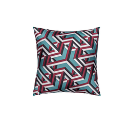 """Carre Cube"" Hermès Silk Scarf Pillow"