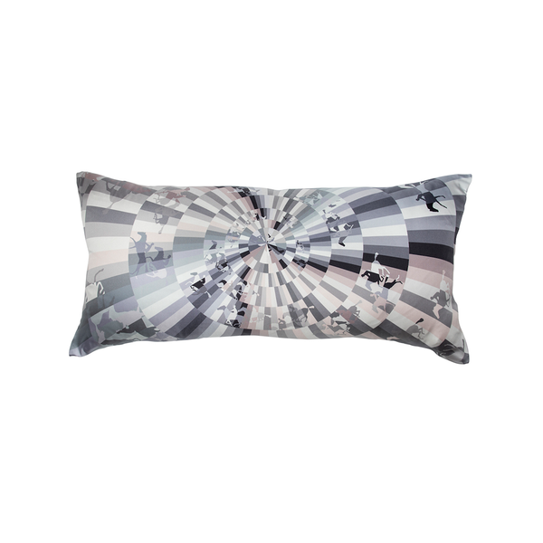"""Galop Chromatique"" Hermès Silk Scarf Pillow - Tribute Goods"