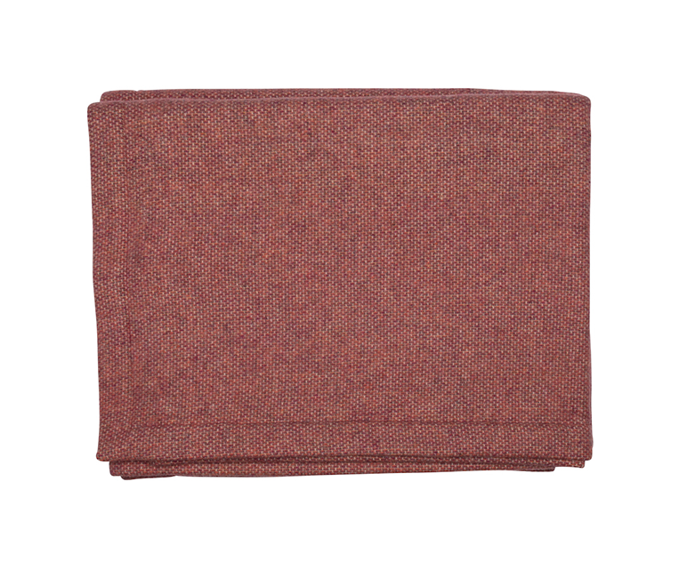 Red Wool & Cashmere Blanket