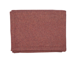Red Wool & Cashmere Blanket - Tribute Goods